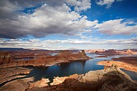 USA, Utah, Lake Powell, Glen Canyon Nationalpark, Alstrom Point
