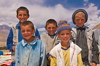 Young Afghan boys, Wakhan Corridor, Afghanistan, Asia