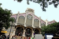 Spain,Valencia,historic centre,central market,one of the oldest running food markets in Europe