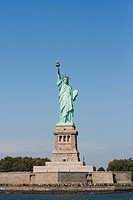 USA, New York, New York City, Statue of Liberty