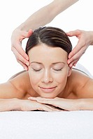 Woman having face massage (thumbnail)