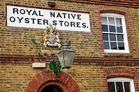 Royal Native Oyster Stores Building in Whitstable, Kent, England