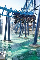 The Infusion ride on Blackpool Pleasure Beach amusement park