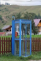phone booth in Romania