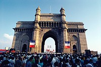 French Festival at Gateway of India , Bombay Mumbai , Maharashtra , India