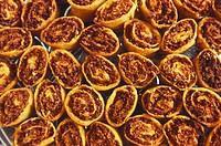 Bakarwadi , special namkeen of chitle bandhu , Pune , Maharashtra , India