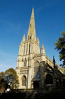 St Mary Redcliffe Church, Redcliff, Bristol, England, United Kingdom