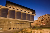 The new Acropolis museum. Athens. Greece