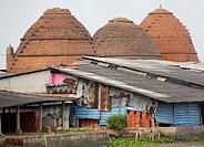 Brick factory, Mekong River, Vietnam