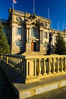 England, Tyne & Wear, South Shields  South Shields Town Hall, opened in 1910 and often used in Catherine Cookson television dramas