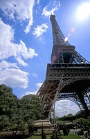 Eiffel Tower Paris France Europe EU