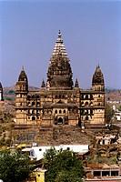 Chaturbhuj temple , Orchha Tikamgarh , Madhya Pradesh , India