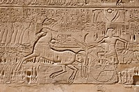 Wall Relief at Karnak Temple, Luxor, Egypt