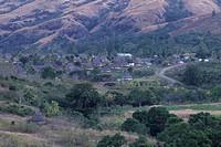 Navala Village in Nausori Highlands, Viti Levu, Fiji