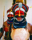 Two women from the Chimbu province in the highlands of Papua New Guinea