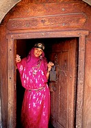 Asia,Yemen,Yemenite woman traditional dressed
