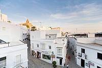 White village Vejer de la Frontera, pueblo blanca, Province Cadiz, Andalucia, Spain