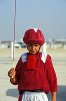 Camel Jockey, Dubai, United Arab Emirates, Middle East, Asia