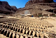 Asia,Yemen,Wadi Hadramaut,brick factory