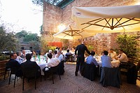 europe, italy, tuscany, siena, italian stock of vintage wines, the restaurant