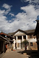 Historical buildings, Old town of Lijiang, Yunnan Province, China