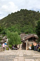 Shuhe village, Lijiang, Yunnan Province, China