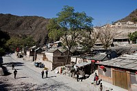 Chuandixia village, Beijing environs, China