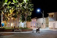 City, Square, Palmeiras, Chapada Diamantina, Bahia, Brazil