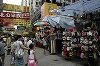 Women Street, Mongkok, Hong Kong