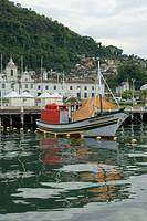 Boats, Ilha Grande, Rio de Janeiro, Brazil