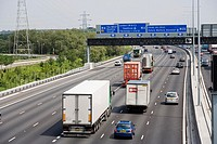 Junction 15, M25 Motorway, Heathrow, London England, United Kingdom