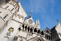 The Supreme Court, Royal Courts of Justice, The Strand, London, England