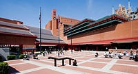 British Library, St. Pancras, London, England