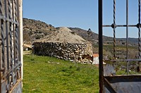 ´Nevera de los Monjes´ old stone building, Budia, La Alcarria, Guadalajara province, Castilla-La Mancha, Spain