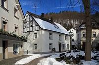 D-Plettenberg, Else, Lenne, Lennetal, Lennegebirge, Lennebergland, nature reserve Ebbegebirge, nature reserve Homert, Sauerland, North Rhine-Westphali...