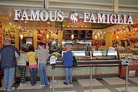 Washington DC, Ronald Reagan Washington National Airport, DCA, terminal, concourse, concession, food vendor, business, Famous Famiglia, Italian food, ...
