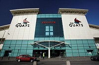 the Quays shopping and leisure complex centre mall in Newry county down northern ireland