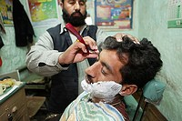 Pakistani barber