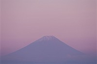 Mt. Fuji in evening light. Nagano Prefecture, Japan