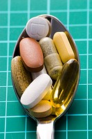 A spoonful of vitamin supplements