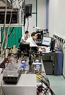 Nanooptics laboratory, AFM-Raman setup, SNOM, CIC nanoGUNE, Nanoscience Cooperative Research Center, San Sebastian, Gipuzkoa, Euskadi, Spain