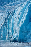 Scenic of Harriman Glacier, Prince William Sound, Southcentral Alaska, USA