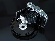 Camera and roll of film