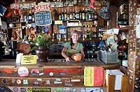 Slovakia, bargirl Lucia alias Pasta of the Kamenna chata pod Chopkom mountain chalet