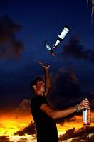 Aruba, juggler bartender