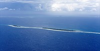 Tuvalu island in the pacific ocean threatens to disappear in the next 50 years due to sea level rise