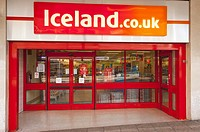 The Iceland shop store in Norwich,Norfolk,Uk