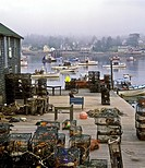 Fishing village, Bass Harbor  Maine USA Bass Harbor, Mt  Desert Island