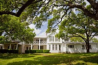 The Lyndon Bains Johnson Texas White House in the LBJ National Historic Park, Texas, USA