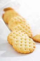 Several biscuits
